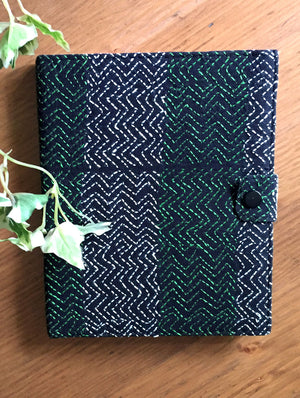 Handmade Kantha Embroidered Cloth Covered Diary