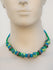 Jaipur Ceramic Beads & Metal Neckpiece - The India Craft House