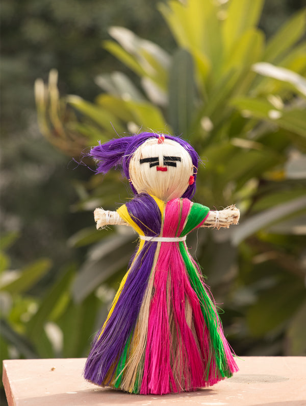 Jute Craft - Doll - The India Craft House