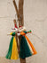 Jute Craft - Doll Keychain (Set of 2) - The India Craft House
