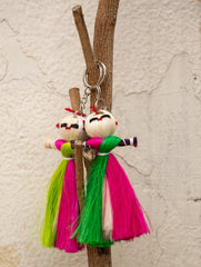 Jute Craft - Doll Keychain (Set of 2)