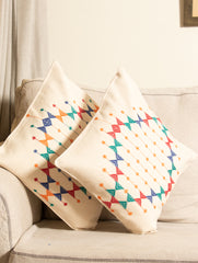 Kashida Embroidered Cushion Covers - Large (Set of 2)