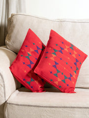 Kashida Embroidered Cushion Covers - Small (Set of 2)