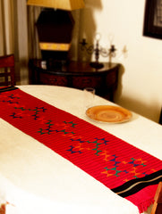 Kashida Embroidered Table Runner - Large