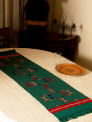Kashida Embroidered Table Runner - Small