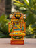 "Kavad Craft Curio - Painted Wood Portable Shrine, 7"" - The India Craft House"