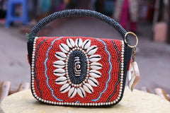 Ladakh Beadwork Small Hand / Tote Bag