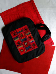 Lambani Mirror Work Laptop Bag