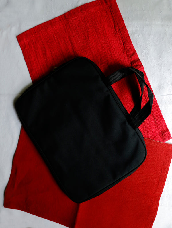 Lambani Mirror Work Laptop Bag - The India Craft House