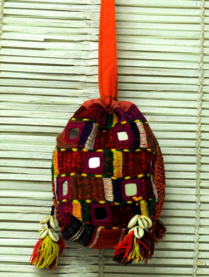 Lambani Tribal Craft - Mirrorwork Sling Bag