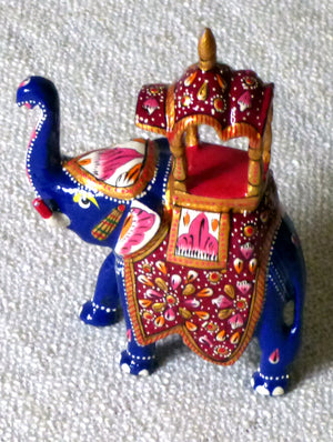 Meenakari Art Curio - Ambavari Elephant, Medium