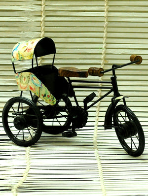 Metal Craft Curio - Cycle Rickshaw
