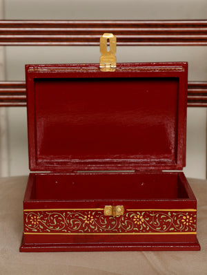 Miniature Painted - Decorative Box, Large