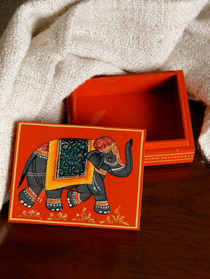 Miniature Painted - Decorative Box, Medium
