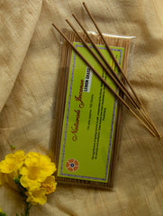 Natural Oils & Herbs Incense Sticks - Lemon Grass (100 sticks)