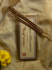Natural Oils & Herbs Incense Sticks - Musk (100 sticks)
