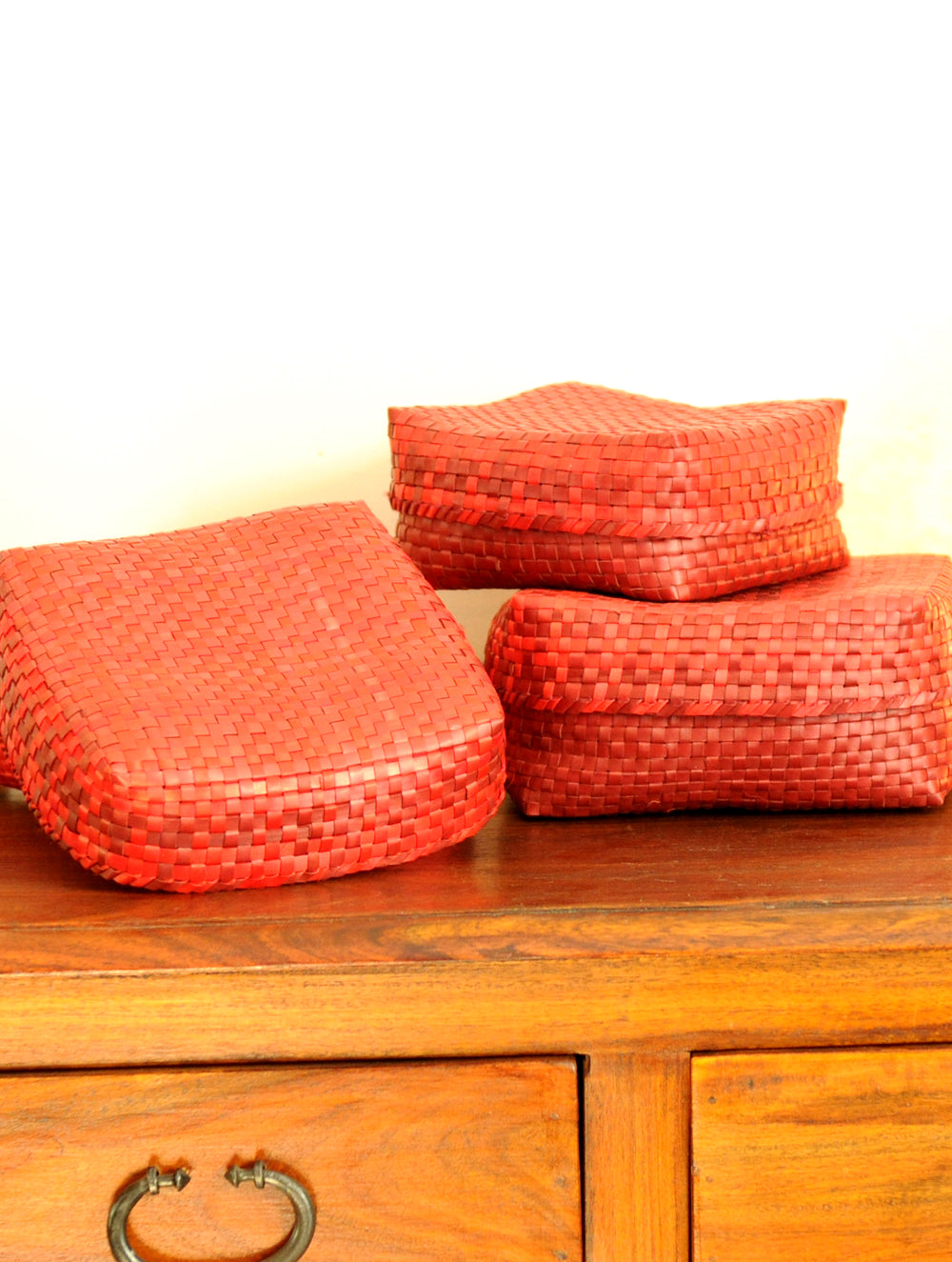 Palm Leaf Weaving From Tamil Nadu By The India Craft House The