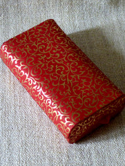 Paper Box Recentagle Red & Gold