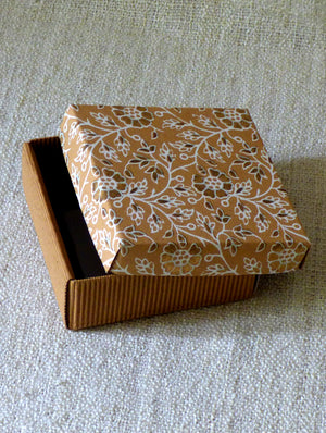 Paper Square Large Box - The India Craft House
