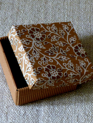 Paper Square Small Box - The India Craft House
