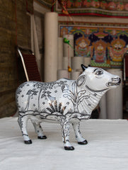 Pattachitra Art Curio - Cow