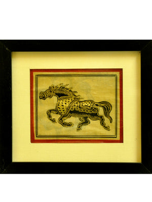Pattachitra  Art - Painting, Framed, Small - The India Craft House