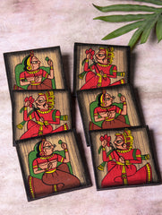 Phad Art - Coasters Square (Set of 6)