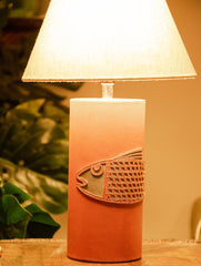 Pure Leather Lamp Base