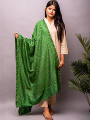 Exclusive Pure Eri Silk With All-Over Bandhini Dupatta