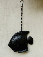 Rajasthani Metal Craft Hanging - Lantern Fish (Medium)