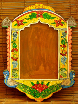 Rajasthani Art - Painted Frame, Wooden