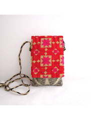 Red and Beige Mobile Sling