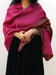 Reversible Soft Kashmiri Wool Stole