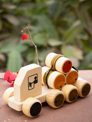 Rumbellory - Wooden Push Toy