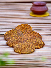 Sabai Grass Coasters - Set of 6