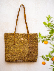 Sabai Grass Laptop / Utility Bag