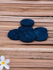 Sabai Grass Round Coaster Set