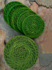 Sabai Grass Coasters with Box - Set of 6
