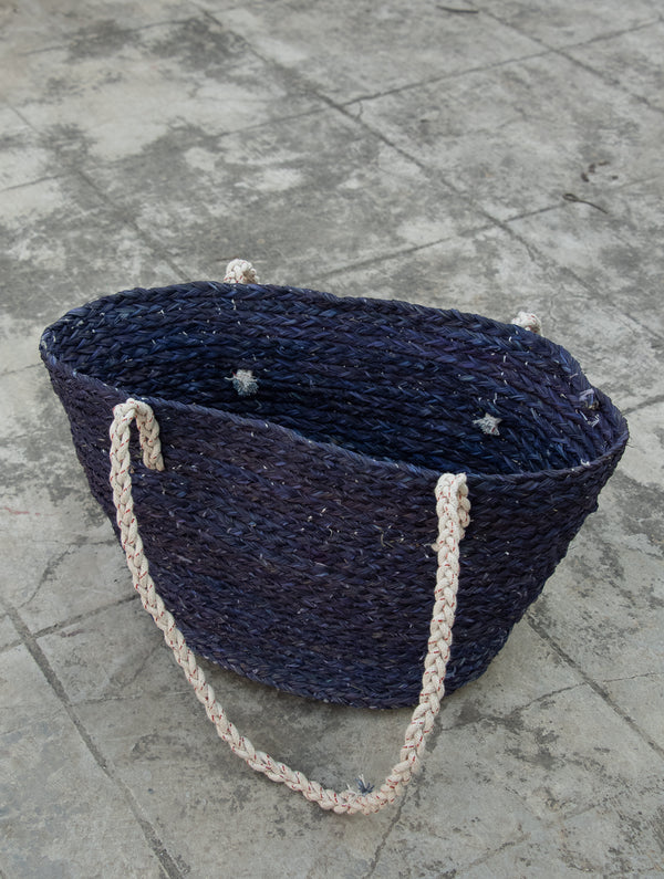 Sabai Grass Tote / Utility Basket - The India Craft House
