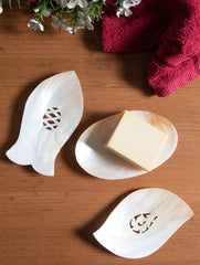 Shell Craft Soap Holder - Mixed Shapes (Set of 3)