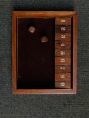 Shut The Box Wooden Game