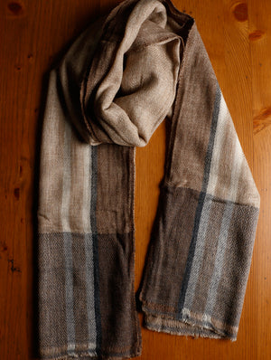 Soft Wool Warm Stole - Long