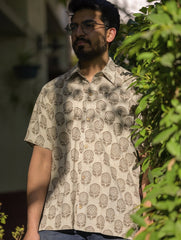 Summer Shirt - Cotton Block Printed