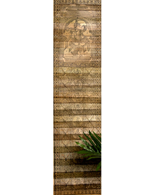 TalaPatrachitra Scroll - Painting on Palm Leaf, Long