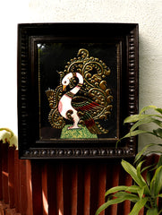 Tanjore Painting with Frame - Annapakshi (Large)