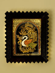 Tanjore Painting with Frame - Annapakshi (Small)