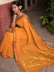 Traditional Beauty. Fine Cotton Ilkal Saree
