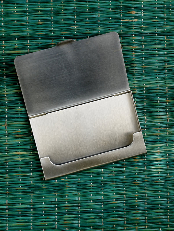 Metal Visiting Card Holder - The India Craft House