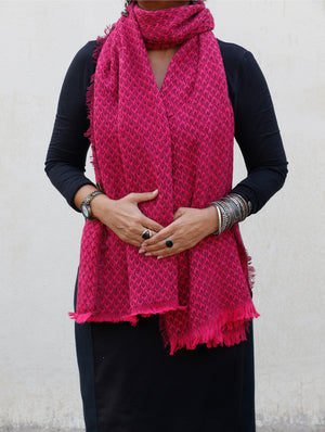 Soft Wool Warm Stole - The India Craft House