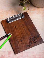 Wooden Engraved Clipboard